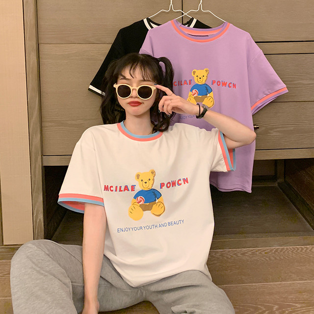 2020SS キュートなベアTシャツ