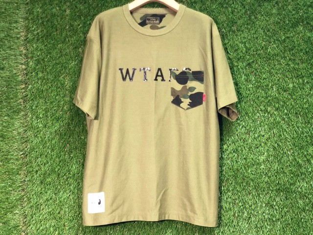 A BATHING APE × WTAPS REVERSIBLE TEE 2 72.5JH7794