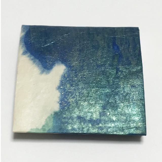 黒谷和紙のコインケース【海洋】