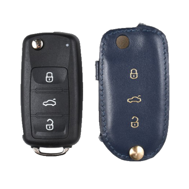Volkswagen 専用 Type-B Car Key Case Shrink Leather Case