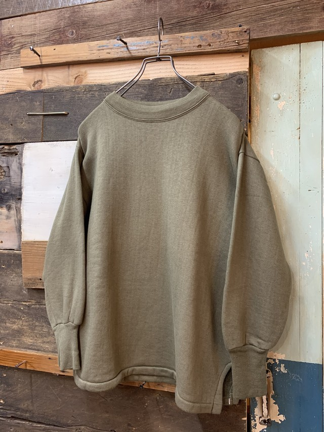 70's hungary army sweat shirt deadstock