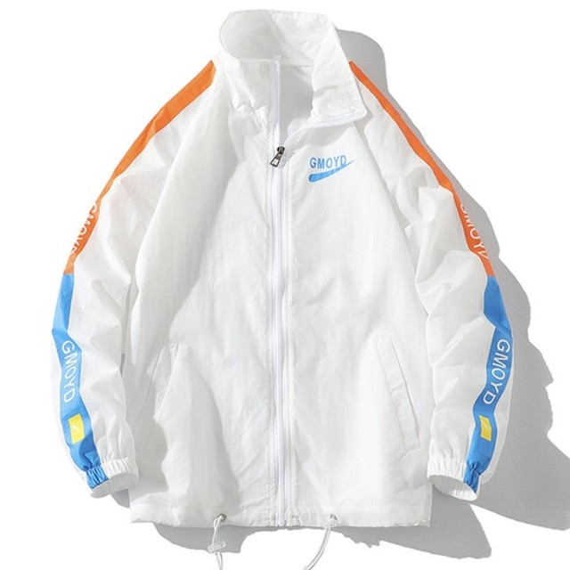 [人気アイテム]side line windbreaker PD2630
