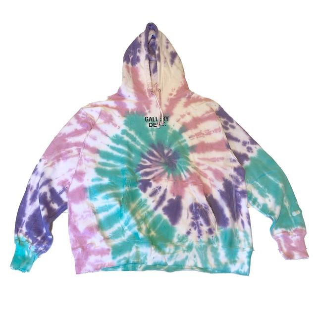 GALLERY DEPT Marina Tie Dye Hoodie
