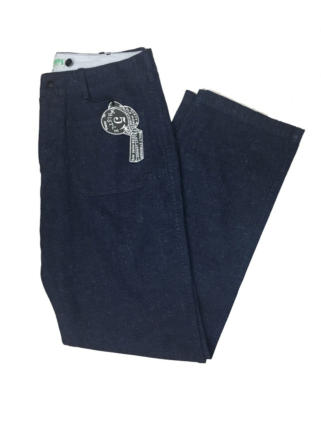 USN SAILOR PANTS <INDIGO>