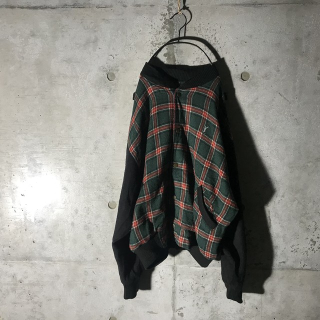 [YSL]cute check jacket