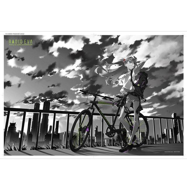 EVA STORE オリジナルジグソーパズル RADIO EVA Illustration 01 丘の上のアスカ / EVANGELION エヴァンゲリオン