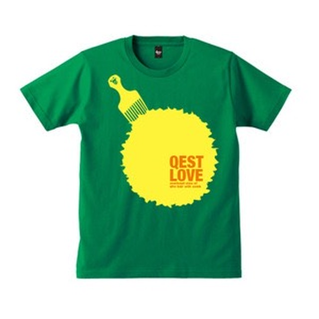 Qest Love T-shirt / Green - メイン画像