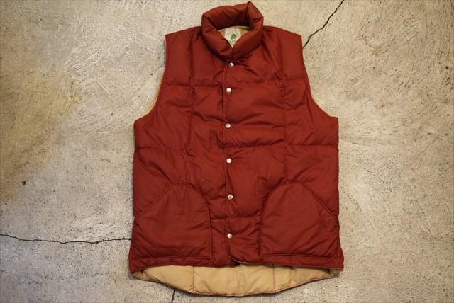 USED 70s SIERRA DESIGNS Down Vest -Medium V0636