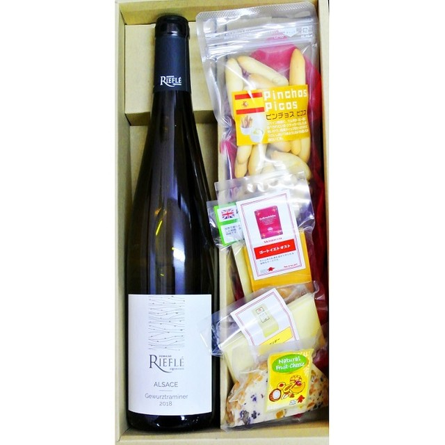 ギフト イタリア 赤ワイン & チーズとピコス5種セット