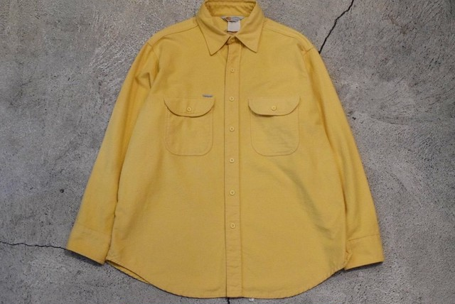 USED 90s carhartt Chamois Shirt -Large 0886