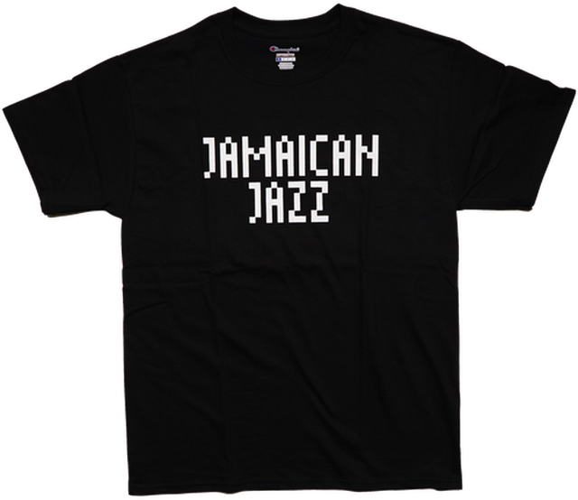 CONTROLLER × beat sunset JAMAICAN JAZZ Tシャツ(Black)