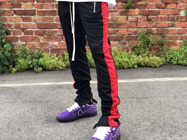MNML TRACK PANT BLACK/RED SMALL 22IK2471