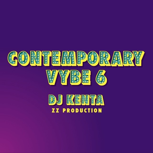 [MIX CD] DJ KENTA(ZZ PRODUCTION) / CONTEMPORARY VYBE 6