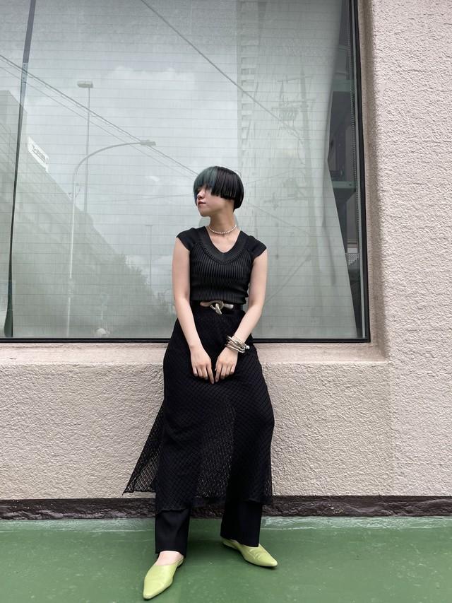 no sleeve knit tops / 7SSTP18-12
