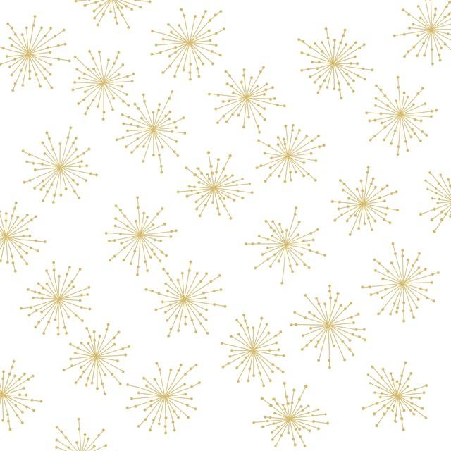 2019秋冬【Paperproducts Design】バラ売り2枚 ランチサイズ ペーパーナプキン SPARKLING ゴールド