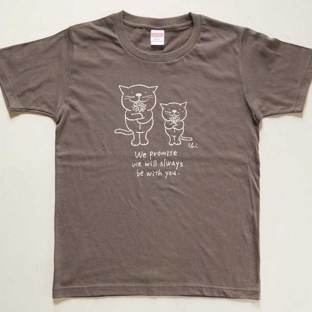 再入荷♪ Tシャツ「Love cats Love dogs 1」ネイビー