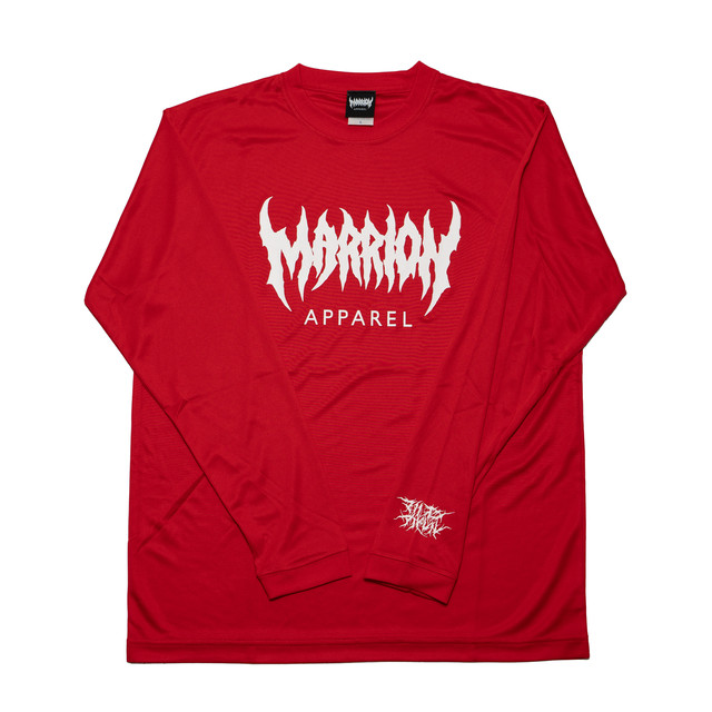 【DRY】MARRION APPAREL DRY LONGSLEEVE (RED)