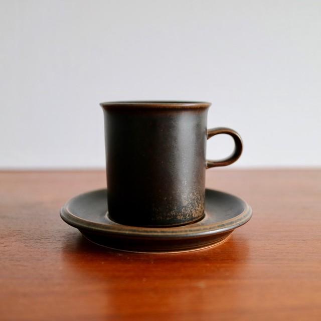 Arabia アラビア / Ruska ルスカ コーヒーカップ&ソーサー