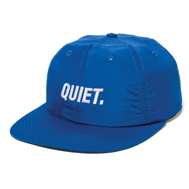 THE QUIET LIFE SPORT POLO HAT ROYAL BLUE