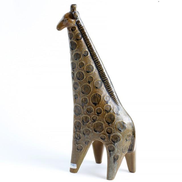 Gustavsberg グスタフスベリ Lisa Larson リサ ラーソン Stora Zoo 大きな動物園 Giraff キリン - 2 北欧ヴィンテージ