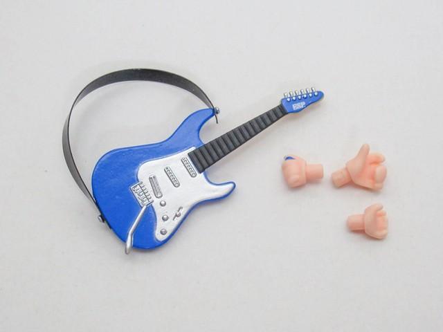 【1484】 花園たえ ステージ衣装Ver. 小物パーツ ギター ねんどろいど