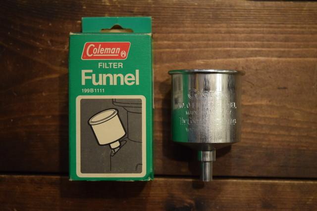 Deadstock Coleman Filter Funnel G07