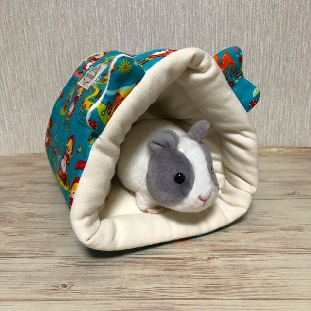もるちゃんのふわふわトンネル(おやさい柄)