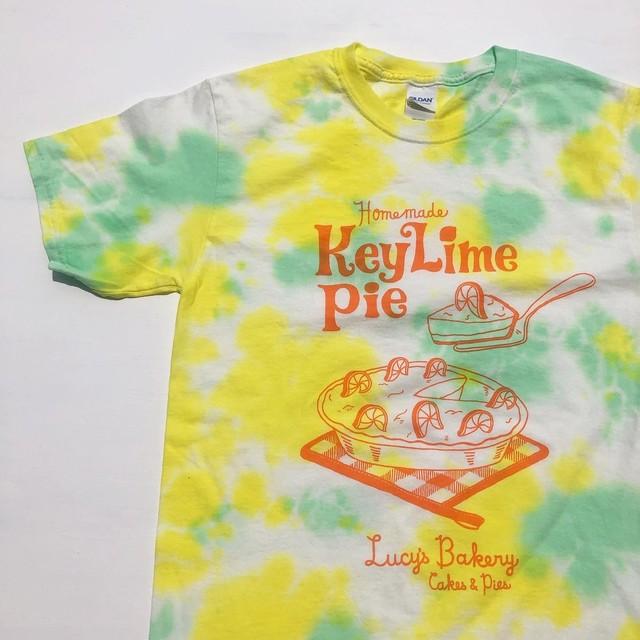 "Lucy's Bakery ""Key Lime Pie"" Tie-dye S/S Tee   ルーシーズ・ベーカリー""キーライムパイ""タイダイTシャツ"