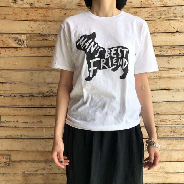 TOPANGA Lady's Best Friend Tシャツ ホワイト