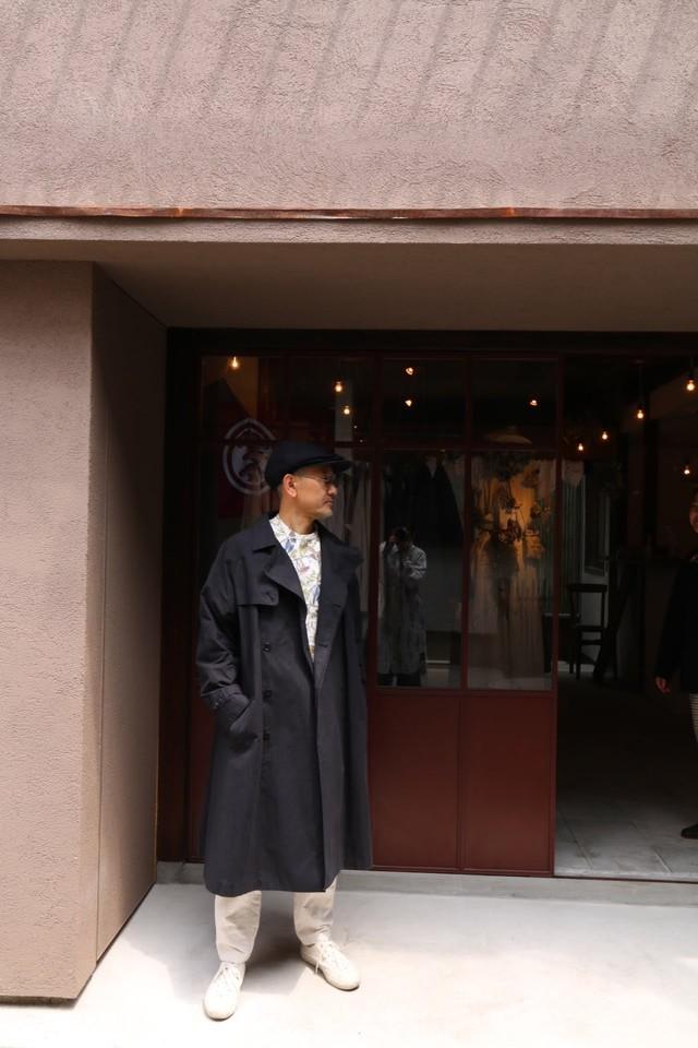ASEEDONCLOUD/アシードンクラウド Father's Coat/ファザーズ・コート Mogamibana Saddlecloth/BLACK #192102