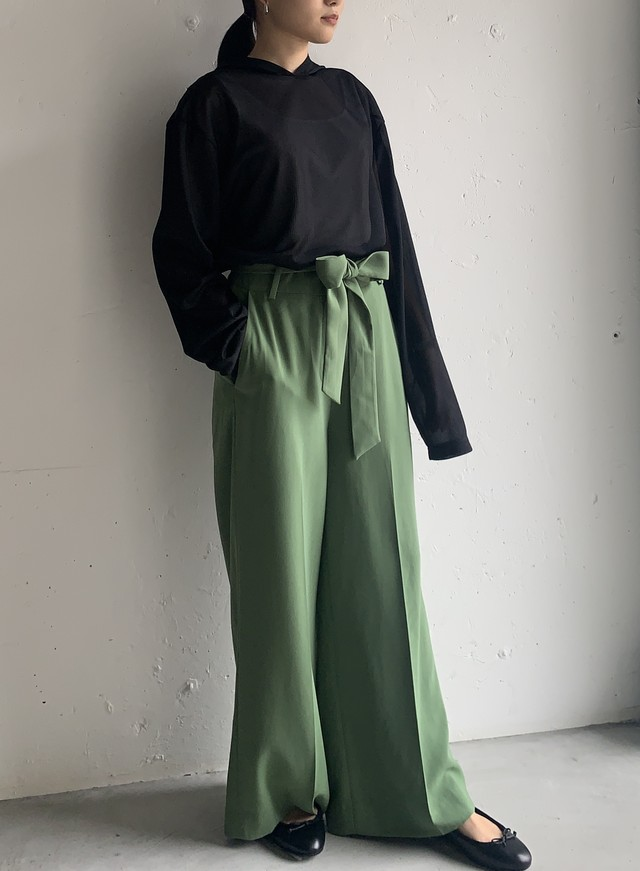 """RACHEL PARCELL"" wide pants"