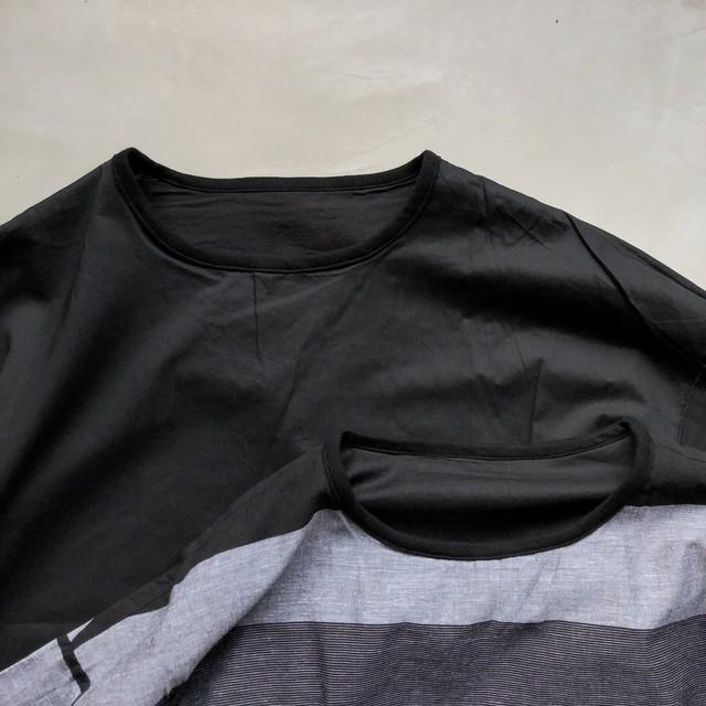 MANUAL ALPHABET / リバーシブル シャツ T