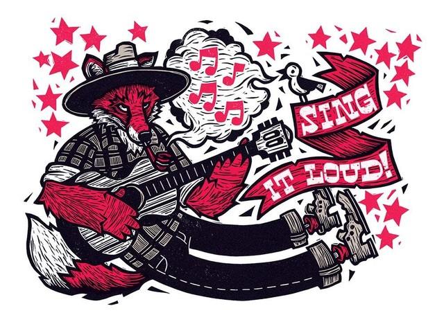 ジョン・フェローズ - SING IT LOUD アートワーク