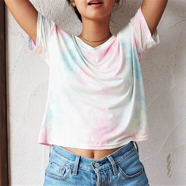 Tie-dye Soft Tee《BLUE&PINK》