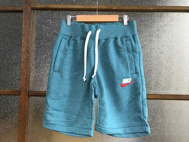 NIKE HERITAGE SHORT PANTS (DEEP TEAL/HEATHER)