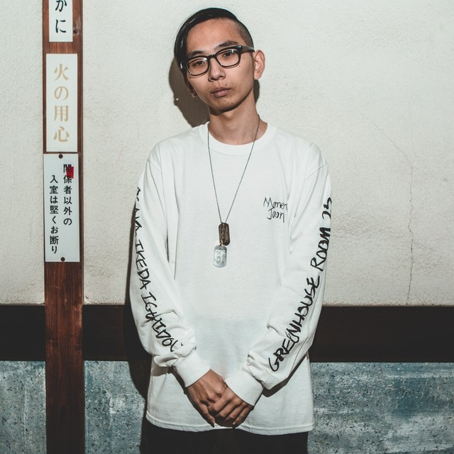 "MOMENT JOON ""Immigration EP"" L/S Tee [WHITE]"