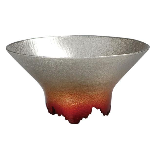 SHIKICOLORS Scarlet Sake Cup