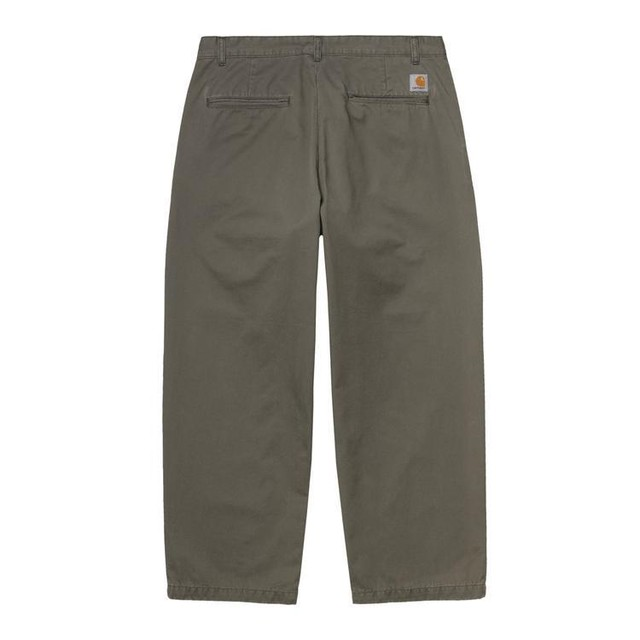 CARHARTT W.I.P ALDER PANTS - Moor stone washed