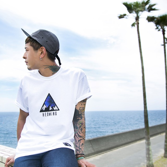 Mt.Galaxy T-shirt  White