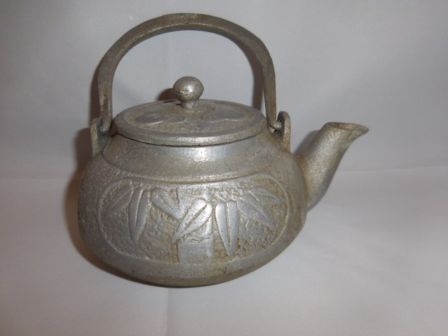 錫合金の急須 tin &multi-metal tea pot