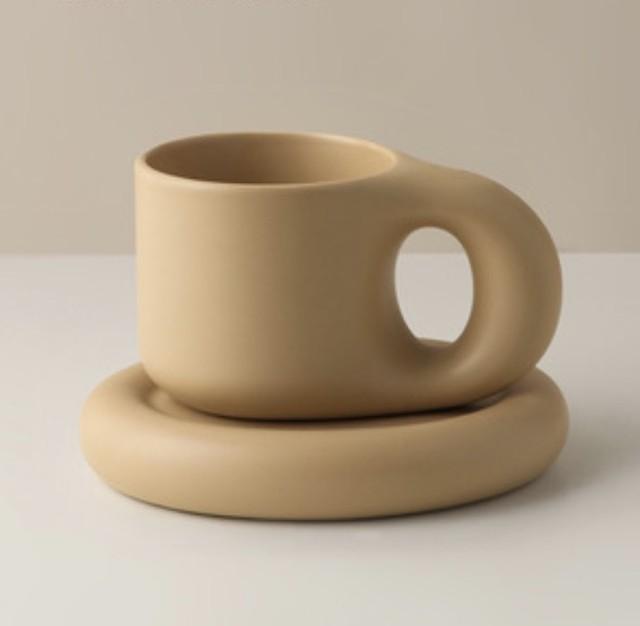 4/22 23:59〆【お取り寄せ商品】Chubby mugs & plates  / カップ&プレート /  韓国インテリア