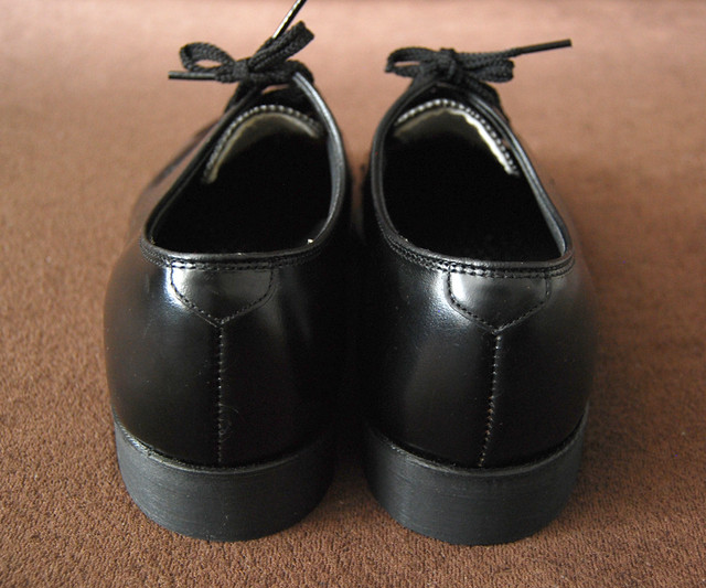 70s Deadstock SAFETY SHOES KNAPP SHOES 8D