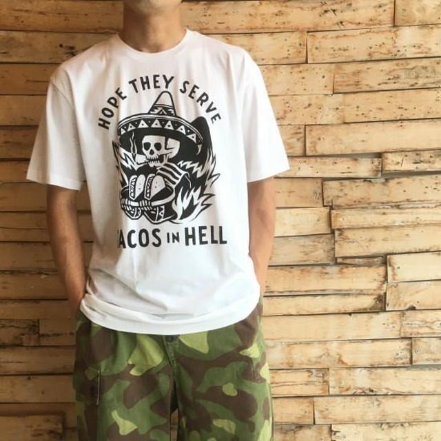 ハンドプリントTシャツ タコス