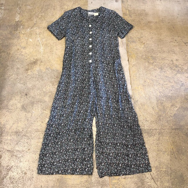 Floral Print Rompers ¥6,900+tax