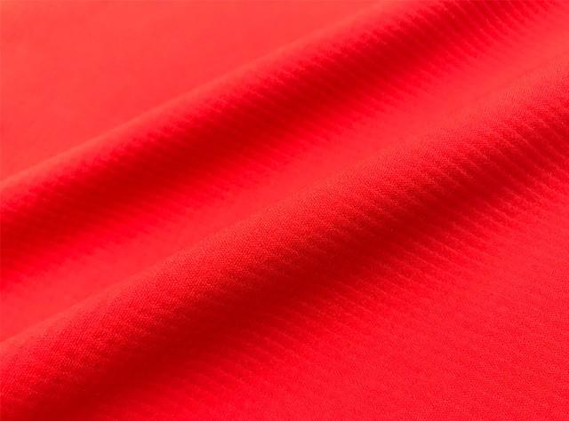 ミストラル ユニセックス【HP-DRY(ハイドロフォビックドライ)半袖Tシャツ -ミストラル-】RED