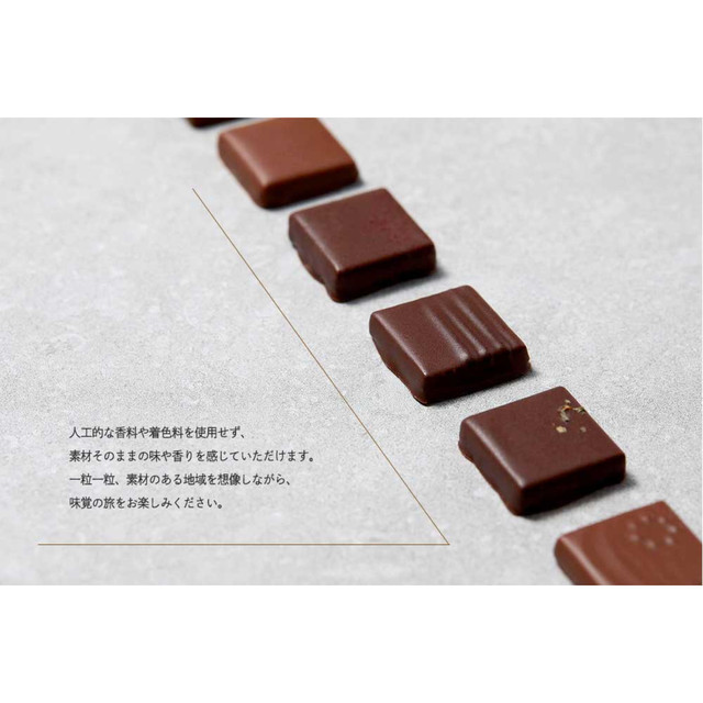 チョコレート【旅するチョコレイト6粒詰め合わせ】 ボンボンショコラ |スイーツ|ホワイトデー|バレンタインのお返しに|セトレ|冬ギフト|お取り寄せグルメ|洋菓子|ショコラ|常温配送
