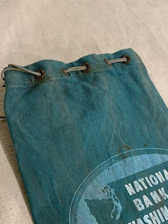 """BANK BAG """" NATIONAL BANK OF WASHINGTON #1 """""""