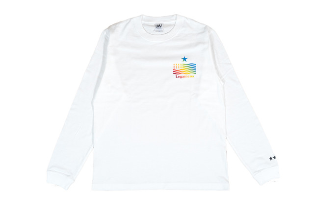 NEW【star logo rainbow long sleeve】