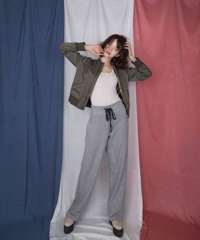 df18AW-12 SWEAT GC PANTS (gray)