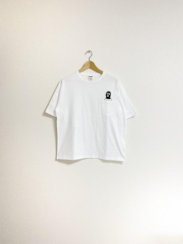 レスラーポケットTシャツ(ビッグシルエット)